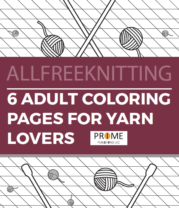 6 adult coloring pages for yarn lovers allfreeknittingcom
