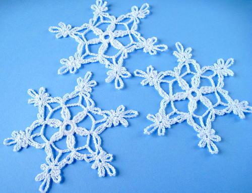 Crochet Snowflake Allfreecrochet