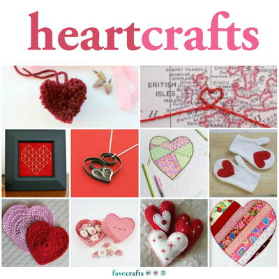 98 Heart Craft Ideas Favecrafts Com