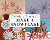 40 Creative Ways to Make a Snowflake