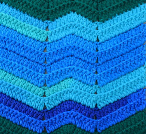 The Wripple Crochet Blanket