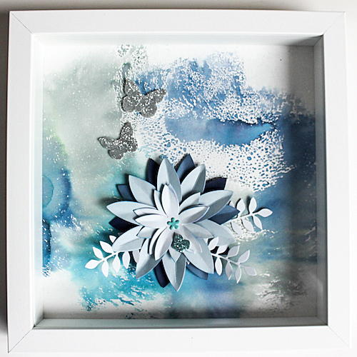 Butterfly Ice DIY Wall Decor