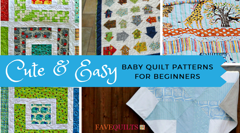 60 Cute And Easy Baby Quilt Patterns For Beginners FaveQuilts Impressive Easy Baby Quilt Patterns