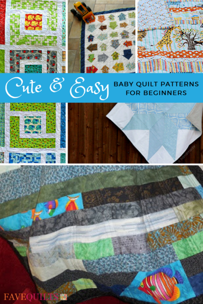 60 Cute And Easy Baby Quilt Patterns For Beginners FaveQuilts Mesmerizing Easy Baby Quilt Patterns