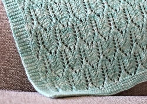 Matana Worsted Blanket Allfreeknitting