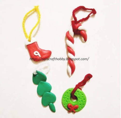 DIY Clay Christmas Ornaments