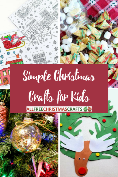 simple christmas crafts for kids - Homemade Christmas Decorations For Kids