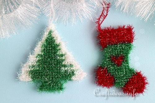 sparkly plastic canvas christmas ornaments - Large Plastic Christmas Decorations