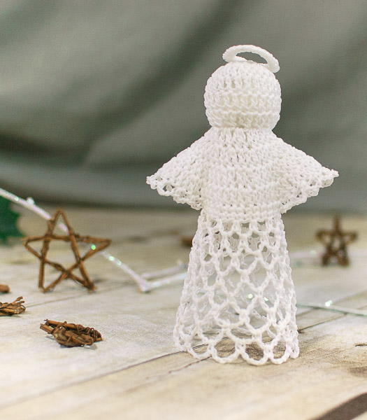 Crochet Lace Angel