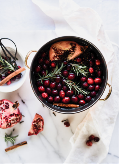 Pomegranate and Cranberry Potpourri Recipe