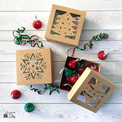 DIY Christmas Gift Boxes
