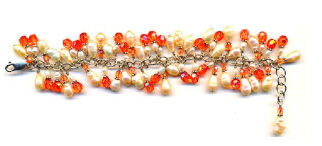 101 free beading patterns favecrafts cluster bracelet fandeluxe Images