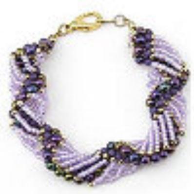 101 free beading patterns favecrafts dutch spiral bracelet fandeluxe Images