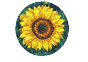 Beaded Sunflower Coasters
