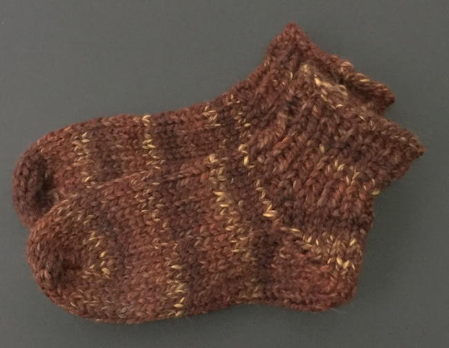 One Skein Knit Thick Socks Allfreeknitting