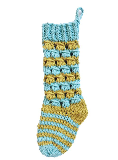 Christmas in Cali Knit Stocking