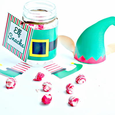 Elf Snack Jar