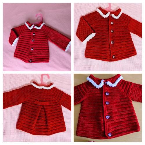 Crochet Baby Cardiganjacket Allfreecrochet