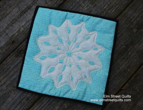 Winter Snowflake Block Tutorial