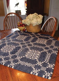 From Woven Coverlet to Hooked Rug