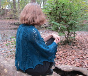 Hike to Marion Falls Knit Shawl