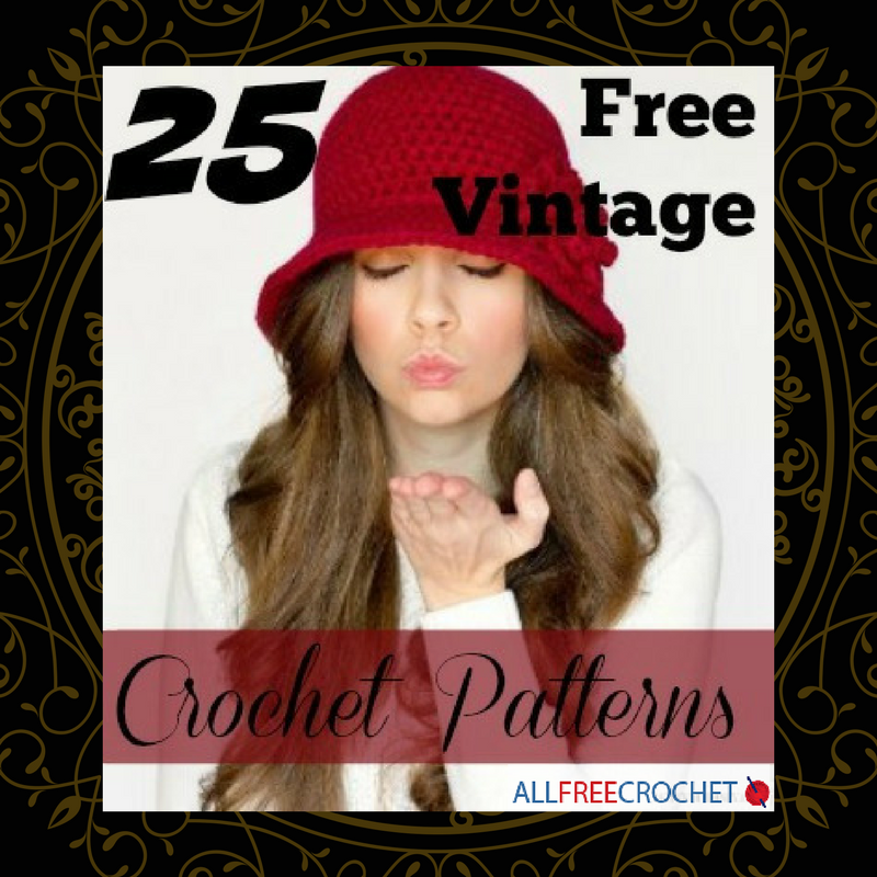 25 Free Vintage Crochet Patterns Allfreecrochet