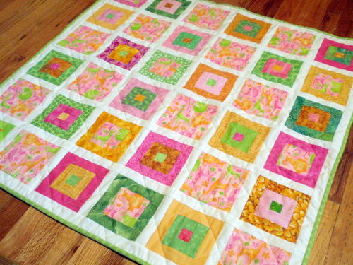 Window Box Scrapbuster Quilt
