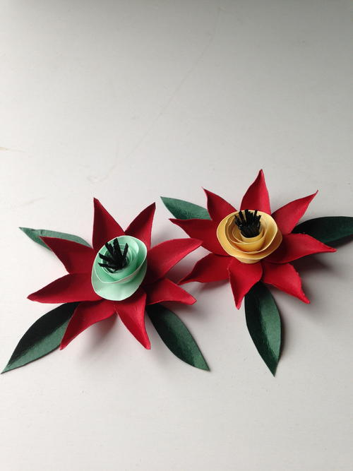 Cute Construction Paper Flowers