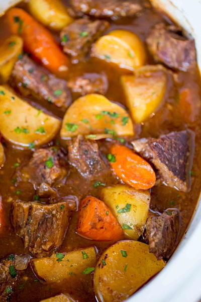 Comforting Slow Cooker Beef Stew