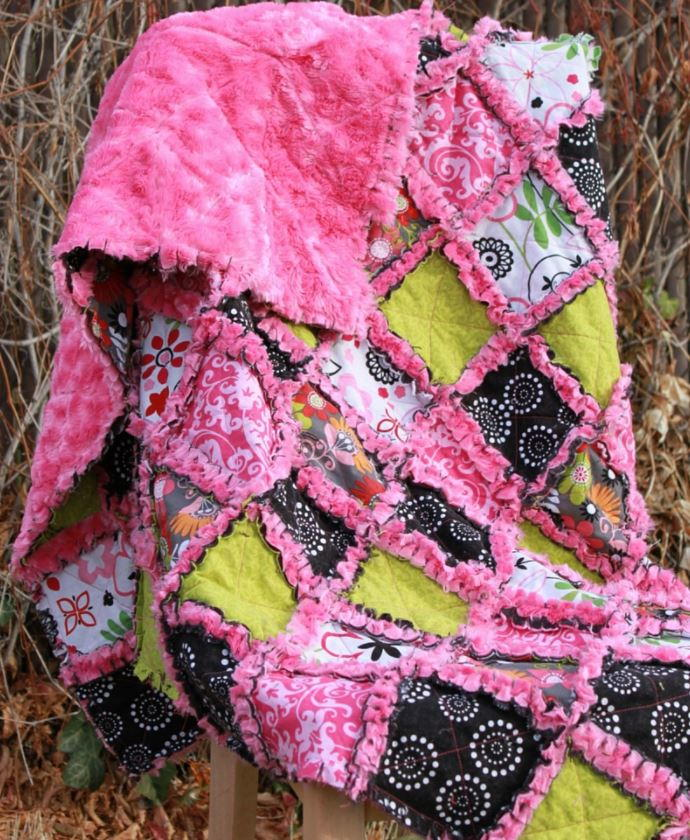 Minky Rag Quilt Tutorial Favequilts