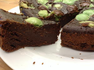 Mint Chocolate Bubble Cake