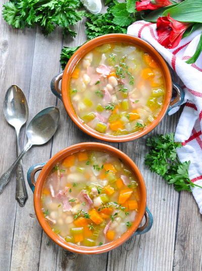 Classic Ham and Bean Soup