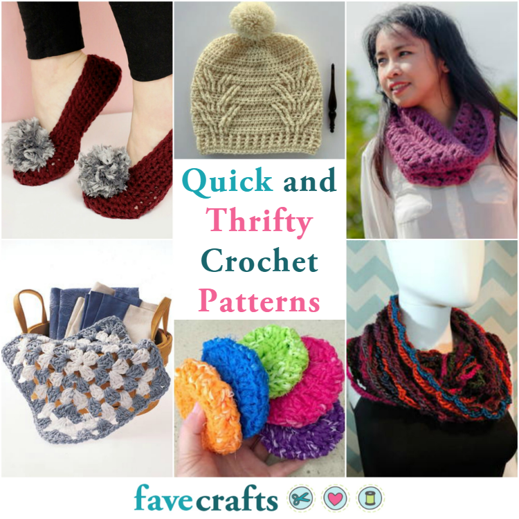 49 Quick And Thrifty Free Easy Crochet Patterns Favecrafts