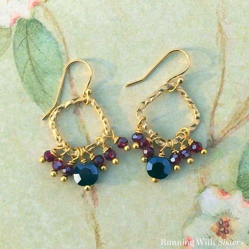 Diy beaded chandelier earrings allfreejewelrymaking diy beaded chandelier earrings aloadofball Choice Image