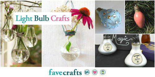 13 Light Bulb Crafts