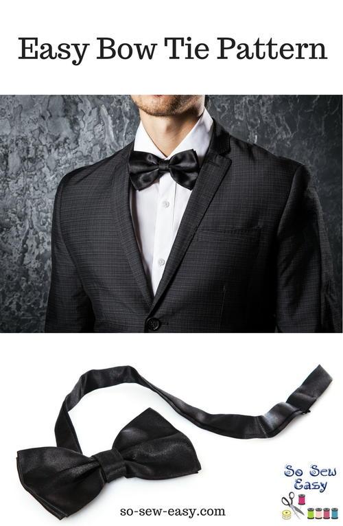 Easy DIY Bow Tie | AllFreeSewing.com
