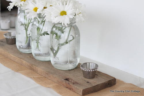 Rustic Wedding Tablescapes