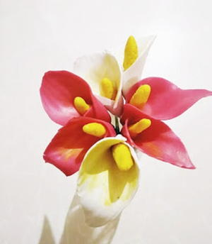 Calla Lily - Cold Porcelain Clay