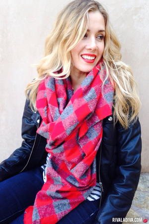 Country Chic Blanket Scarf