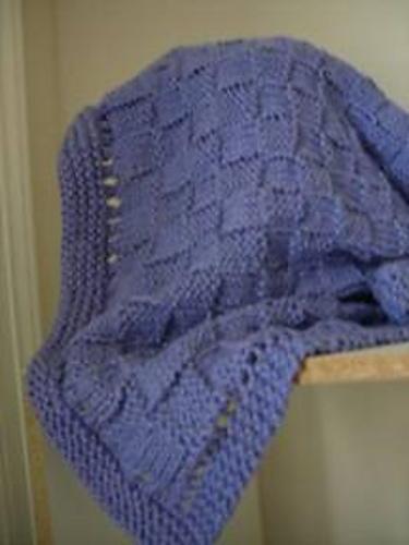 19 Free Baby Blanket Knitting Patterns | FaveCrafts.com