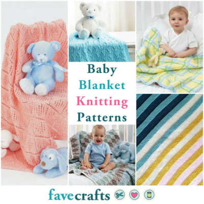 19 Free Baby Blanket Knitting Patterns Favecrafts