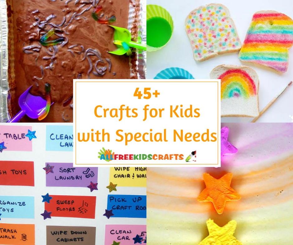45 Crafts For Kids With Special Needs Allfreekidscrafts Com