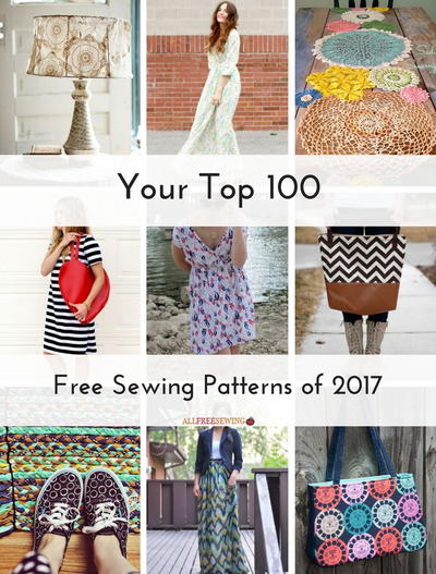 Your Top 100 Free Sewing Patterns of 2017