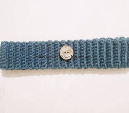 Ribbed Stitch Crochet Headband