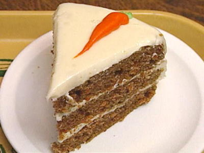 Carrot Cake with Eggs