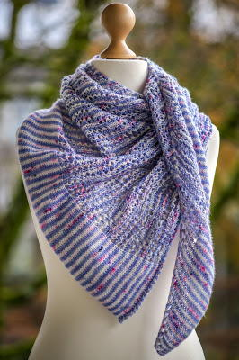Frost on the Windowpane Shawl