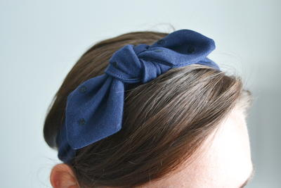 Scrap-Busting Knotted Headband