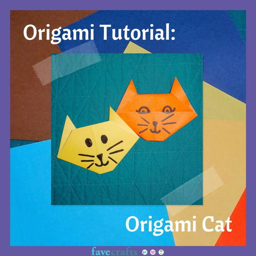 Beginners Origami Tutorial Origami Cat and Dog