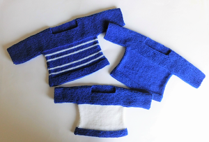 Adorable Easy Knit Baby Sweater