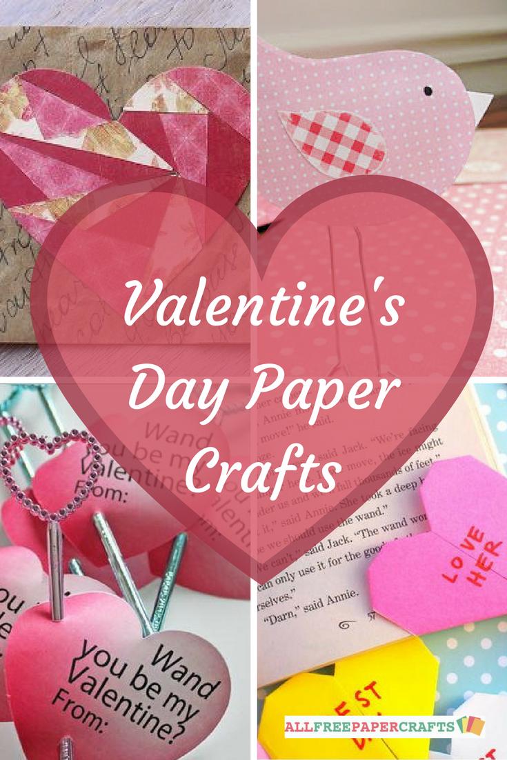 25 valentines day paper crafts heartfelt homemade valentine 25 valentines day paper crafts heartfelt homemade valentine cards and projects allfreepapercrafts jeuxipadfo Gallery
